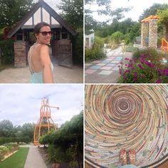 Aujourd'hui je vous emmène découvrir mon parc préféré il s'agit de Mosaic, le jardin des cultures et pour la visite direction mon snapchat 👻…