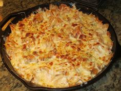 {Kaitlin in the Kitchen}: Bowtie Skillet Lasagna    We loved it!  (We didn't have a skillet we could put under a broiler, so we just threw it in a pan and stuck it in the oven)