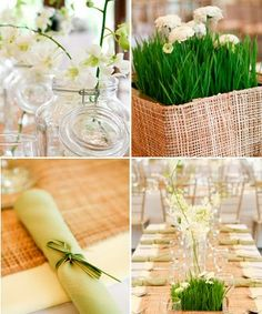 Filipino woven fiber with white and green floral arrangements is a great way to tie in our culture into the wedding. Filipiniana Wedding Theme, Flower Decorations, Wedding Decorations, Filipino Wedding, Debut Ideas, Spring Wedding Colors, Wedding Themes, Wedding Ideas, Wedding Preparation