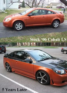 Chevy Cobalt Transformation!