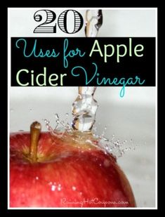 20 Uses for Apple Cider Vinegar (Weight Loss, Acne, Hair, Skin, and MORE!) The best tasting vinegar I've used! Bragg even bottles a vinegar and honey beverage that is tasty and energizing! Apple Health Benefits, Apple Cider Benefits, Best Weight Loss, Lose Weight, Moisturizing Hair Mask, Vinegar Weight Loss, Vinegar Uses, Healthy Tips, Healthy Skin