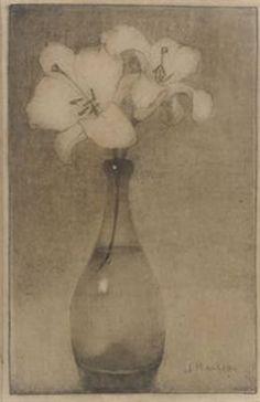 Jan Mankes (Dutch, 1889-1920) Still Life, 1911, pencil on paper