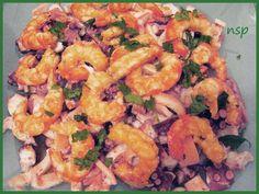 Insalata di mare - Ricette di non solo pasticci
