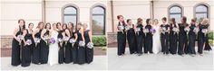 Purple bridal bouquets : Twinbrook Floral Design Purple Wedding Arrangements, Wedding Flowers, Country Club Wedding, Bridesmaid Dresses, Wedding Dresses, Bridal Bouquets, Floral Design, Fashion, Bridesmade Dresses