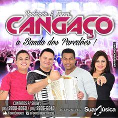 FORRÓ CANGAÇO - PROMOCIONAL NOVEMBRO 2014 - PRA PAREDÃO  http://suamusica.com.br/cangaconov2014