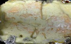 Receita de salmão ao molho branco para a fase cruzeiro PP dukan.