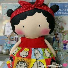 Confesso que cada boneca que faço, a vontade que tenho é de ficar com ela pra mim  #tilda #tildinha #tildatoy #bonecadepano #tildatoys #feitocomamor  #feitocomcarinho #mãedemenina #gravidez #coisasdemenina #maternidade #fofura  #chádebebê #decoração #doll #dolls #tildaworld #costurinhas #princesas #newborn #atelie #artesanato #recemnascido #futuramamae #tonefinnanger #vestidodeboneca #snoopy