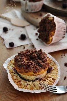 Zupfkuchen - Heidelbeer - Muffins