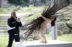 Гиперреалистичные скульптуры Рона Муэка