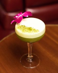 From @elitetraveler Tag your friends and follow us for more... Curse of Lo Pan a cocktail too-pretty-to-drink created by Ray Sakover for Slowly Shirley in New York.  #EliteTraveler #latestinluxury #foodiefriday