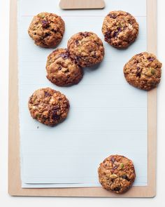 To make gluten-free versions of these cookies, substitute 1 cup of Wholesome Cup 4 Cup (available at cup4cup.com) for the flour, and use gluten-free oats.