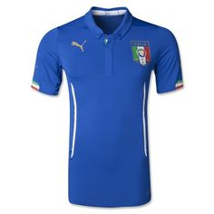 Italy 2014 Authentic Home Soccer Jersey - The Official FIFA Online Store