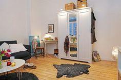 Décoration dune Appartement studio de 31 mètres carrés ~ Décor de Maison / Décoration Chambre
