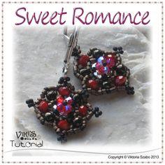 Dainty Beaded Earrings - Sweet Romance