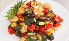 Roasted Rosemary Savory Vegetables