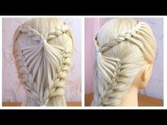 Nice Haircuts for 2018 French Braid Hairstyles, Dance Hairstyles, Work Hairstyles, Casual Hairstyles, Indian Hairstyles, Pelo Casual, Ladder Braid, Doll Hair, Diy For Girls