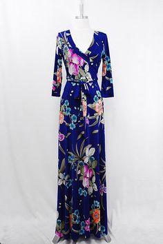 Adeline Dress in Royal on Emma Stine Limited