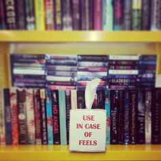 "Make Your Own ""Use In Case Of Feels"" Tissue Box 
