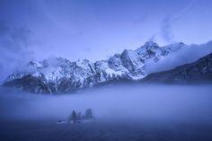 ***Misty Winter Evening (Bavaria, Germany) by Daniel F. / 500px