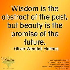 Wisdom comes from what we leave behind us. If we hold on yesterday, we fail to grow wiser, and will always suffer the same fate!!