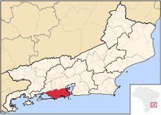 Location in the state of Rio de Janeiro