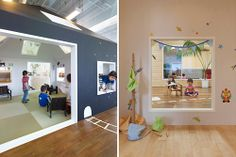 The Architecture of Early Childhood: Rooms within rooms or spaces within spaces is the theme of these new early childhood centres and school...
