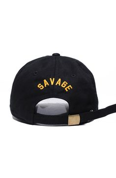 ee758e46f1d The Savage Crew Dad Hat in Black Men s Hats