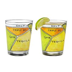 MARGARITA DIAGRAM GLASSWARE