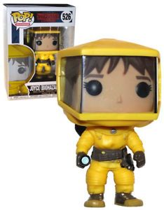 Funko POP! Television Stranger Things #526 Joyce (Biohazard Suit) - New, Mint #FunkoPop #StrangerThings #Collectibles