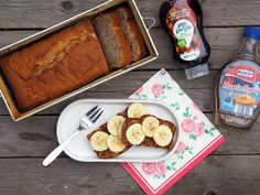 SMOOTH COOKING aneb vaříme hladce : BANANA BREAD / BANÁNOVÝ CHLEBÍČEK
