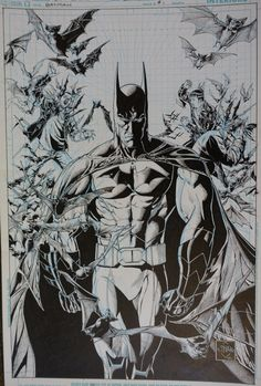 Batman #1 Vol 2 - Variant Cover - Ethan Van Sciver