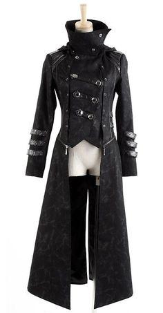 Steampunk: #Steampunk Zip Coat.