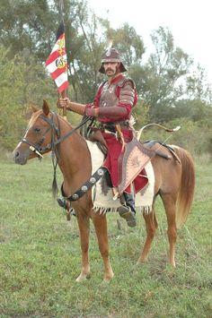 Hunnish cavalry armour reconstruction