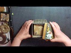 Scatola porta foto- Scrapbooking Tutorial | Scrapmary