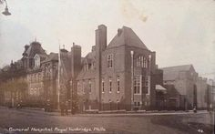 The old General Hospital on Grosvenor Road.