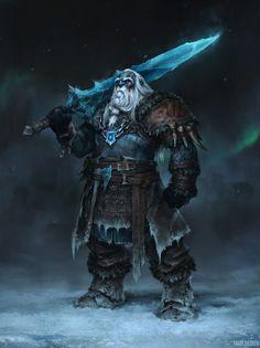 monstruo vikingo - Google Search Fantasy Races, High Fantasy, Fantasy Warrior, Dark Fantasy Art, Fantasy Artwork, Fantasy Dwarf, Fantasy Rpg, Medieval Fantasy, Fantasy Wizard