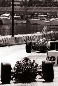 The Monaco Grand prix before it became sterile and driven by prima donna corporate publicity drivers