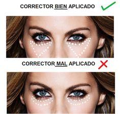 Cazadora de Tendencias: Beauty tip: Cómo corregir las ojeras