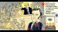 Donald Trump. World Economic Forum, Davos. Emmanuel Macron, Political Ca...