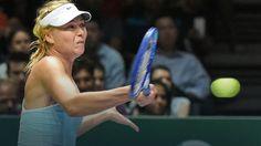 WTA Finals: Szarapowa zagrała dla Radwańskiej, Polka w półfinale