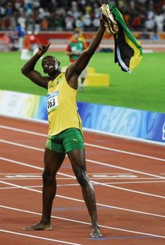 Usain Bolt, fastest man in the world!! Awesome!