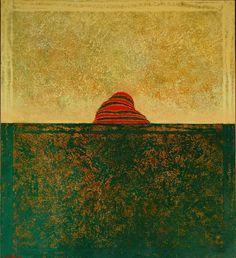 "Partha Pratim Deb, Mixed Media on Canvas, 36 x 30"", 2006, Kolkata"