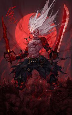ArtStation - Mishupaf butcher's Large Sword, - Lan -