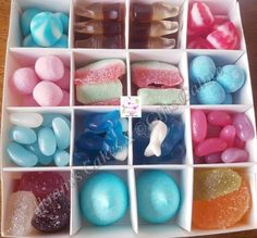 Items similar to Just Sweet Box Pink & Blue - Wheat/Gluten/Dairy/Lactose Free Candy Boxes, Any Occasion Gift For Her/Him on Etsy Wheat Free Diet, Dairy Free Diet, Gluten Free, Halal Sweets, Eid Party, Sweet Cones, Sweet Box, Chocolate Bouquet, Gift Cake
