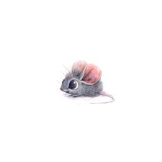 Cute mouse illustration by Sydney Hanson Anime Body, Anime W, Character Drawing, Character Design, Comic Character, Art Mignon, Cute Animal Drawings, Drawing Animals, Dibujos Cute