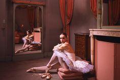 This era's supreme objet d'art': Sylvie Guillem in 1985, aged 19, in her Paris Opera dressing-room