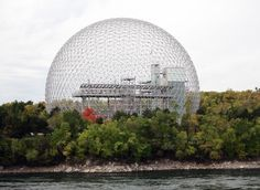 Výsledek obrázku pro The Montreal Biosphère by Buckminster Fuller, 1967