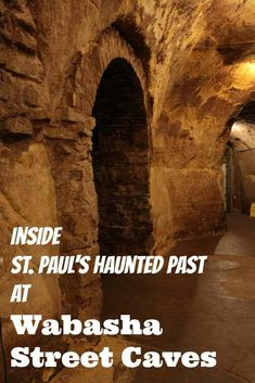 The Wabasha Street Cave in St. Paul is just the beginning of the corruption. Check out the tour for more info on all of the St. Paul Gangster activities. Winter | Minnesota | St Paul | Things to do  #DayTripper