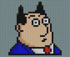 Dilbert Boss perler beads by drsparc on deviantart