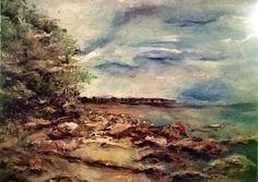 Obraz olejny Widok na Gdynię 60 cm x 80 cm